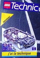 PUBLICITÉ LEGO TECHNIC DES ANNÉES 1980/1990 ? UN MOBILE DE 3 ÉLÉMENTS A SUSPENDRE LE GRAND ÉLÉMENT 28X35cm SITE Serbon63 - Duplo
