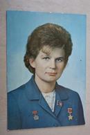 First USSR Woman - PILOT-COSMONAUT - ASTRONAUT RARE 1960s  -  - Tereshkova - Raumfahrt