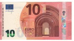 10 EURO  'Ireland'. DRAGHI   T 004 B6  TA2146531918   /  FDS - UNC - EURO