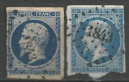 FRANCE - Oblitération Petits Chiffres LP 1843 MAISONS-SUR-SEINE (Yvelines) - Marcophilie (Timbres Détachés)
