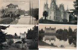 CHALAIN ( 49 ) - Le Chateau ( Lot De 7 Cpa ) - Other Municipalities