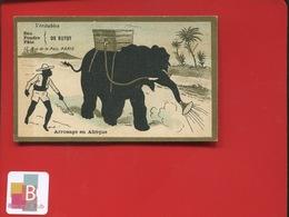 Paris Eau De BOTOT Rue De La Paix Chromo Ombre Chinoise Arrosage Afrique éléphant Robinet  Dentifrice - Trade Cards