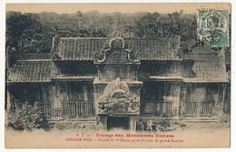 CPA - CAMBODGE - ANGKOR-WAT - Facade Du 2eme étage, Prise Du Haut Du Grand Escalier - Cambodge