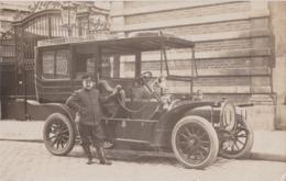 Bw - Belle Carte Photo Véhicule Ancien Avec Chauffeur (Taxi ??) - Taxi & Carrozzelle