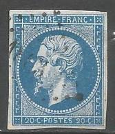 FRANCE - Oblitération Petits Chiffres LP 1863 MARCHENOIR (Loir & Cher) - Marcophilie (Timbres Détachés)