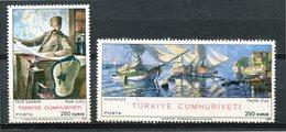 Turquie - 1970 - Yt 1973/1974 - Tableaux - ** - 1921-... Republik