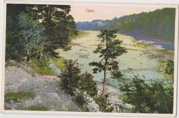LATVIA - LETTLAND - LETTONIE  OGRE     Old Postcard  1933 Circulated - Letland
