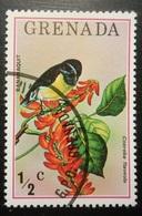 Grenada  Grenade  Lot De 1 Timbre Oblitéré  Oiseau  Bananaquit  Coreba Flaveola - Antilles