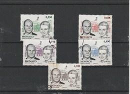 Serie Du N° 2785 à 2789 Mariage Albert Et Charlene - Used Stamps