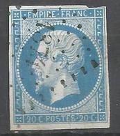 FRANCE - Oblitération Petits Chiffres LP 1874 MAREUIL-SUR-ARNON (Cher) - 1849-1876: Période Classique