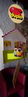 PUBLICITÉ LEGO DUPLO DES ANNÉES 1980/1990 ? UN MOBILE DE 5 ÉLÉMENTS A SUSPENDRE LE GRAND ÉLÉMENT 38X35cm SITE Serbon63 - Duplo
