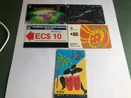 Saint Lucia - Nice Mix With 5 Cards - St. Lucia