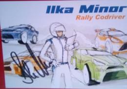 Ilka Minor - Handtekening