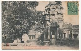 CPA - CAMBODGE - ANGKOR-VAT - Tour Centrale De L'enceinte Extérieure - Cambodge