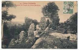 CPA - CAMBODGE - RUINES D'ANGKOR - Terrasses Du Temple Du Pnom Bax-Keng - Cambodge
