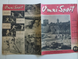 Omni Sport 16 18 Juin 1946 Cyclisme Bordeaux Paris Masson - 1900 - 1949