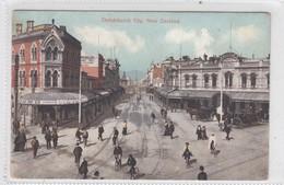 Christchurch City. - New Zealand