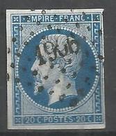 FRANCE - Oblitération Petits Chiffres LP 1906 MARVEJOLS (Lozère) - Marcophilie (Timbres Détachés)