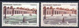 FRANCE - YT N° 1059b - Pelouse Grise - Neuf * - MH - Cote: 40,00 € - Variétés: 1950-59 Neufs