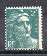 FRANCE - YT N° 713b - 2 Sans F - Neuf ** - MNH - Cote: 14,00 € - Variétés: 1945-49 Neufs