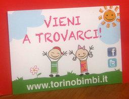 Torino Bimbi CARTOLINA  Pubblicità Freecards 1645 - Pubblicitari