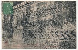 CPA - CAMBODGE - ANGKOR-VAT - Bas Reliefs Représentant Le Barattement De La Mer De Lait - Cambodge