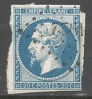 FRANCE - Oblitération Petits Chiffres LP 1922 MATIGNON (Côtes-du-Nord) - 1849-1876: Periodo Classico