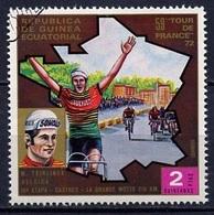 Guinée Equatoriale - Guinea 1973 Y&T N°34-2p - Michel N°(?) (o) - 2p Teirlinck - Guinée Equatoriale
