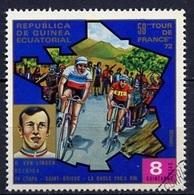 Guinée Equatoriale - Guinea 1973 Y&T N°34-8p - Michel N°(?) (o) - 8p Van Linden - Äquatorial-Guinea