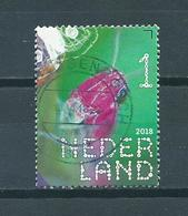 2018 Netherlands Insects,moerassprinkhaan Used/gebruikt/oblitere - Period 2013-... (Willem-Alexander)