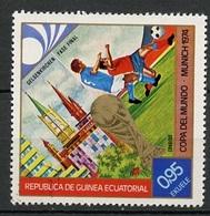 Guinée Equatoriale - Guinea 1974 Y&T N°42-0,95e - Michel N°(?) Stc - 0,95e Coupe Du Monde à Munich - Äquatorial-Guinea