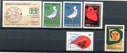 Turquie - 1972 - Lots Timbres ** - Nºs Dans Description - 1921-... Republik