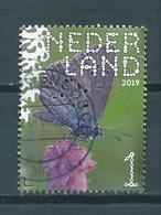 2019 Netherlands Butterfly,gentiaanblauwtje Used/gebruikt/oblitere - 2013-... (Willem-Alexander)