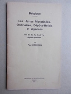 LES HALTES MOTORISÉES - Matasellos
