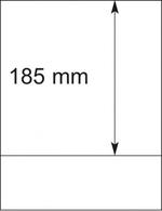 Lindner Blankoblätter 802103 (1VE) 10 Blätter Neuware ( - Album & Raccoglitori