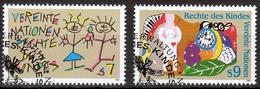 UNO Wien MiNr. 117/18 O Konvention Der Vereinten Nationen über Rechts Der Kinder - Sonstige - Europa