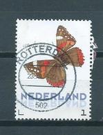 Netherlands Butterfly,atalanta Used/gebruikt/oblitere - 2013-... (Willem-Alexander)