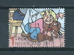 2017 Netherlands Child Welfare,comics,Jan Jans En De Kinderen Used/gebruikt/oblitere - Oblitérés