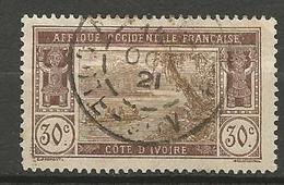 COTE D'IVOIRE N° 49 OBL - Côte-d'Ivoire (1892-1944)