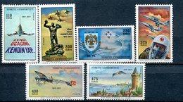 Turquie - 1971 - Yt 1988/1993 - Avions - ** - 1921-... Republik