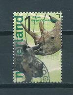 2013 Netherlands 100 Jaar Burgers Zoo,animals,dieren Used/gebruikt/oblitere - Periode 2013-... (Willem-Alexander)