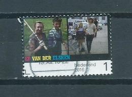 2016 Netherlands Ed Van Der Elsken Used/gebruikt/oblitere - Period 2013-... (Willem-Alexander)