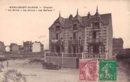 RARE  62 MERLIMONT PLAGE CHALET LA BRISE - LA HOULE - LA RAFALE - Autres Communes