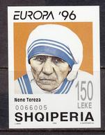 Albania MNH Michel Nr Block 107 From 1996 / Catw 7.00 EUR CEPT - Albanië