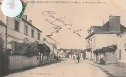 44 - Très Belle Carte Postale Ancienne De SAINT HILAIRE DE CHALEONS   Rue De La Mairie - France