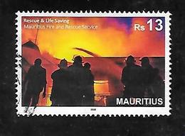 TIMBRE OBLITERE DE MAURICE DE 2018 - Maurice (1968-...)
