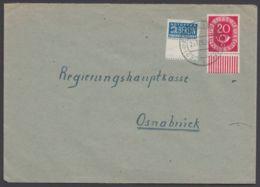Mi-Nr. 130, UR- Stück Mit Notopfer (UR- Stück Mit Kplt- Nebenfeld), Bedarfsbrief - Brieven En Documenten