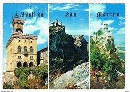 SAN  MARINO:  SALUTI  DA ... -  VISIONI  -  F.LLI  TOLTI  -  FG - San Marino