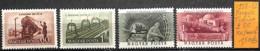NB - [832670]TB//**/Mnh-Hongrie 1952-53 - 2 Série Complète, Trains, Transports - Hongrie