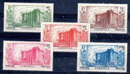 Cameroun  - 1939 - N°Yv. 192    à  196   - Révolution - Série Complète - Neuf Luxe ** / MNH / Postfrisch - Unused Stamps